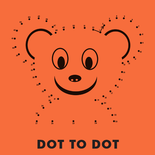 Educational coloring pages for kids - Dot to dot