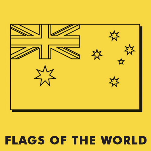 Educational coloring pages for kids - Flags of the world