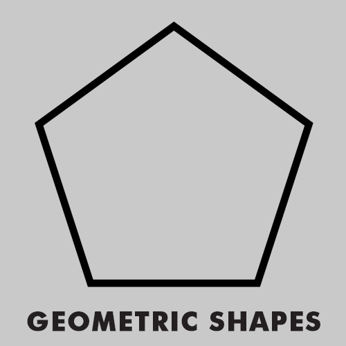 Educational coloring pages for kids - Geometric shapes