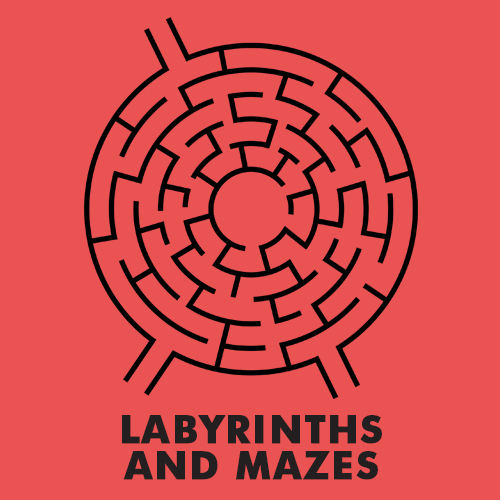 Educational coloring pages for kids - Labyrinths and Mazes