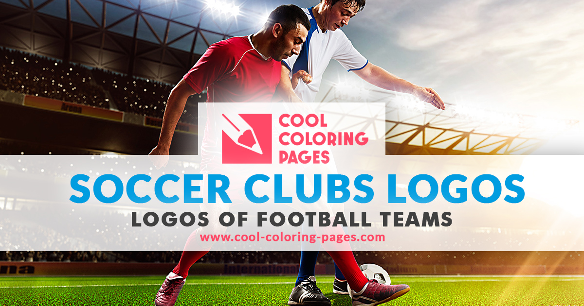 Soccer Clubs Logos / Football Teams Logos -Coloring Pages