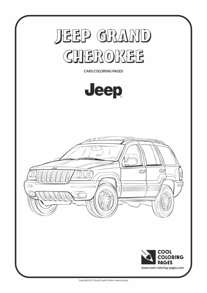 Cool Coloring Pages Jeep Grand Cherokee Coloring Page