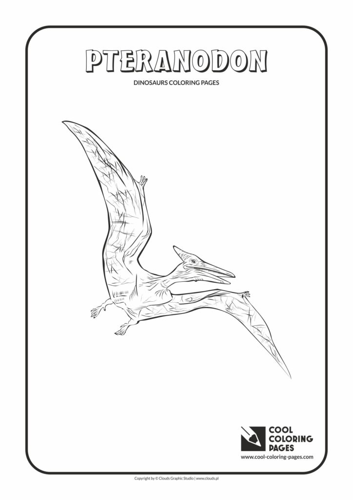 cool coloring pages pteranodon coloring page cool coloring pages