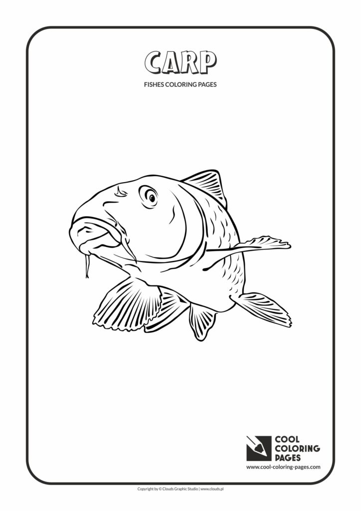 Cool Coloring Pages Carp Coloring Page Cool Coloring