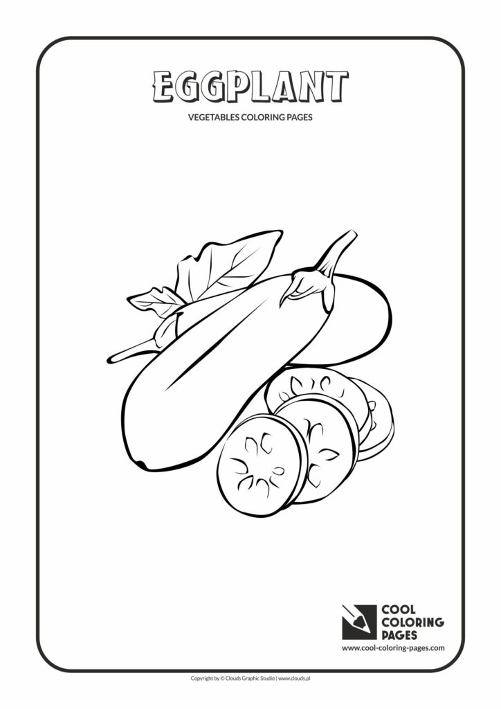 Cool Coloring Pages Eggplant Page