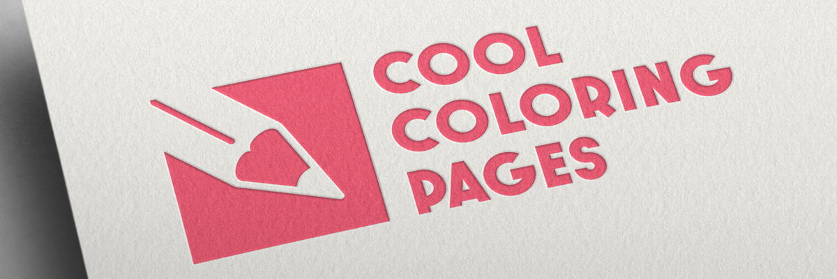 New logo cool-coloring-pages.com - Redesign