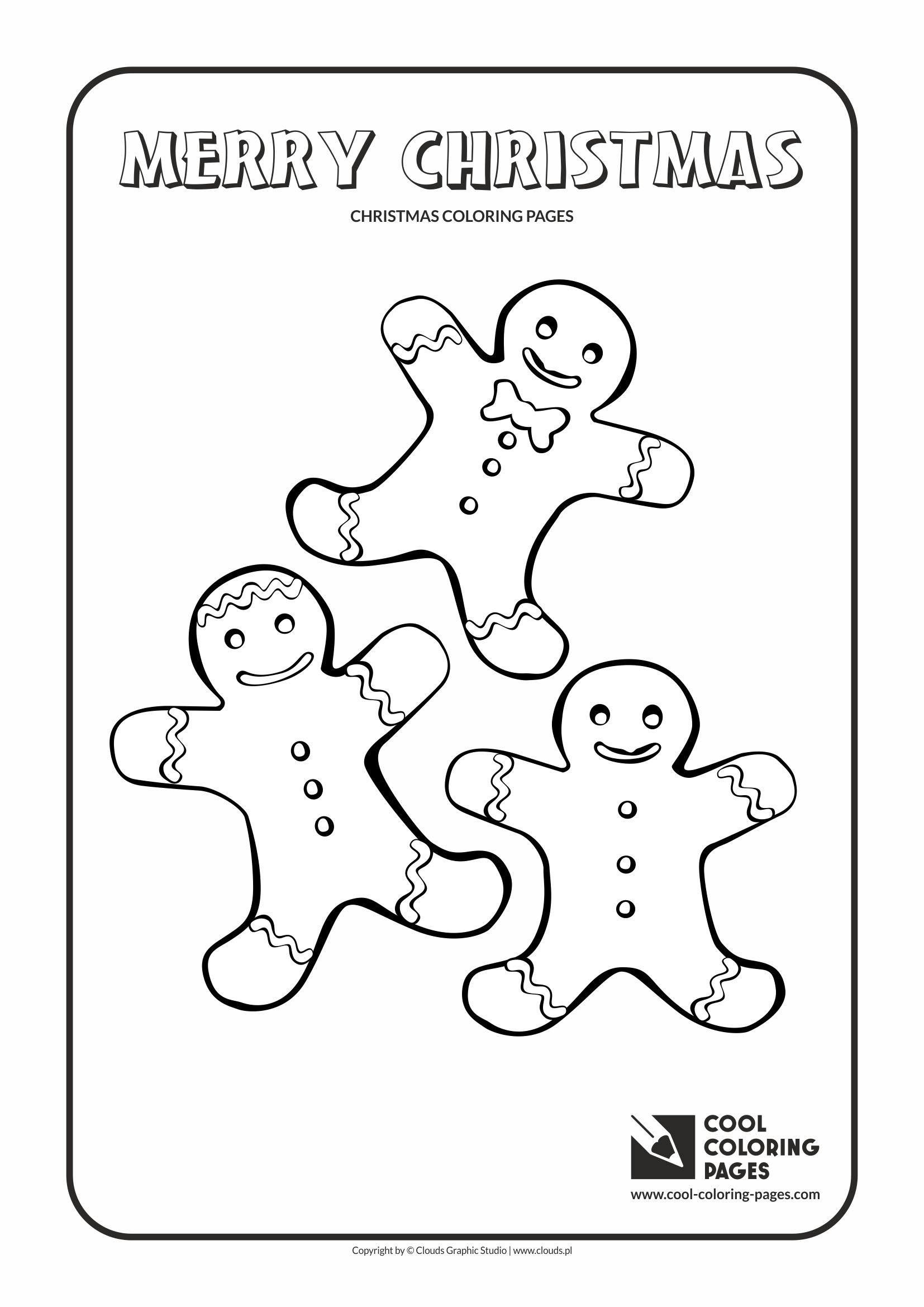 cool coloring pages holidays gingerbread men coloring page with gingerbread men