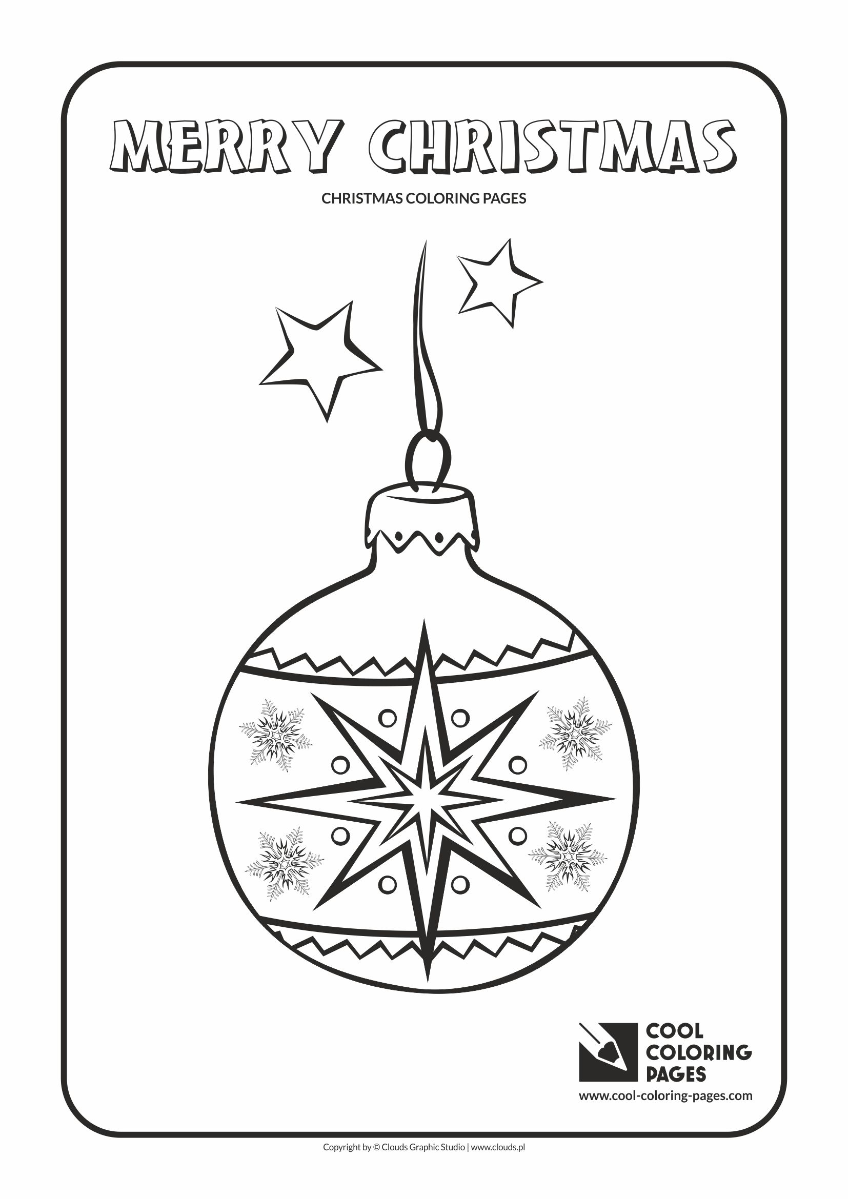 cool coloring pages holidays christmas glass ball no 3 coloring page with christmas