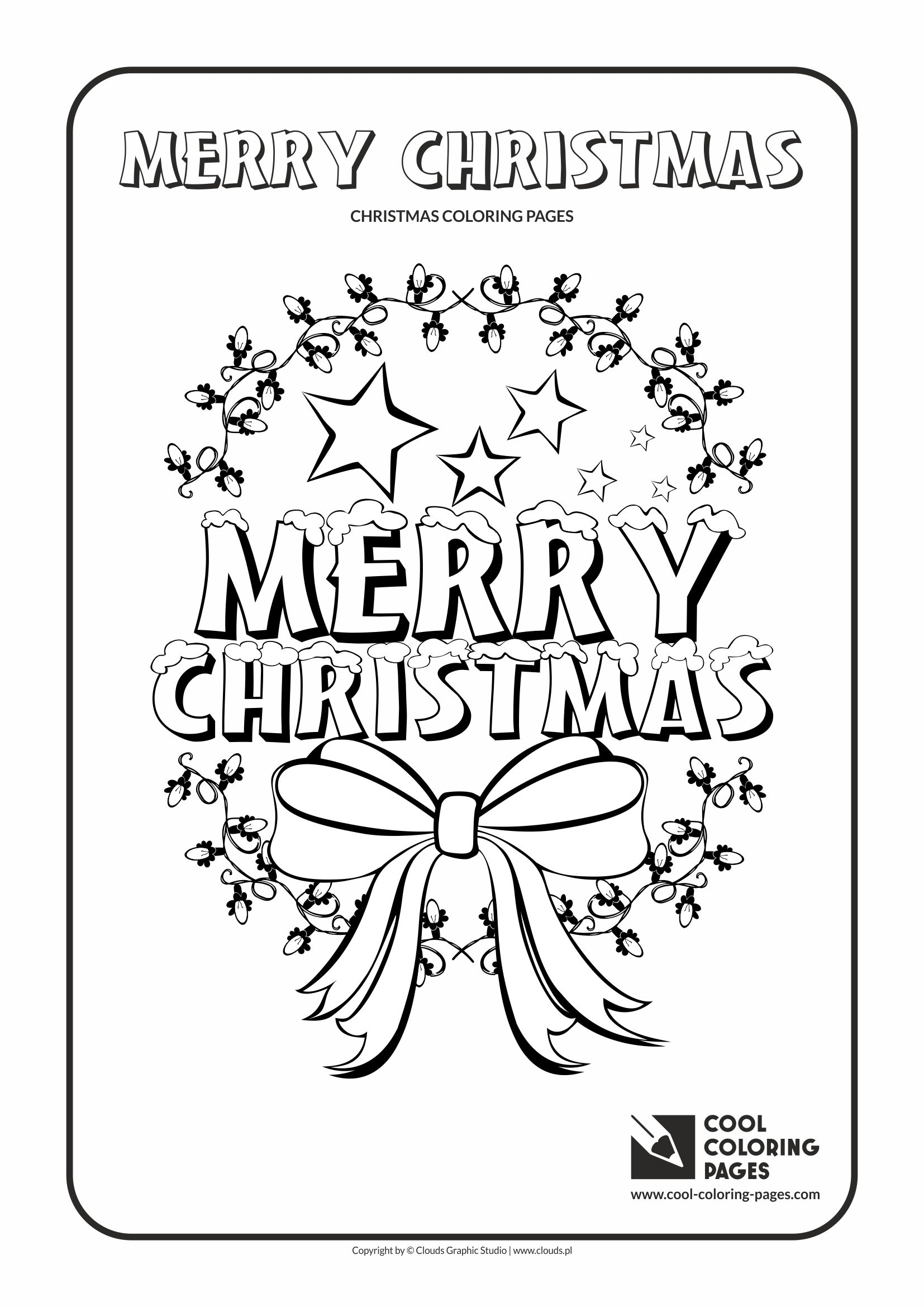 cool coloring pages holidays merry christmas no 2 coloring page with merry christmas