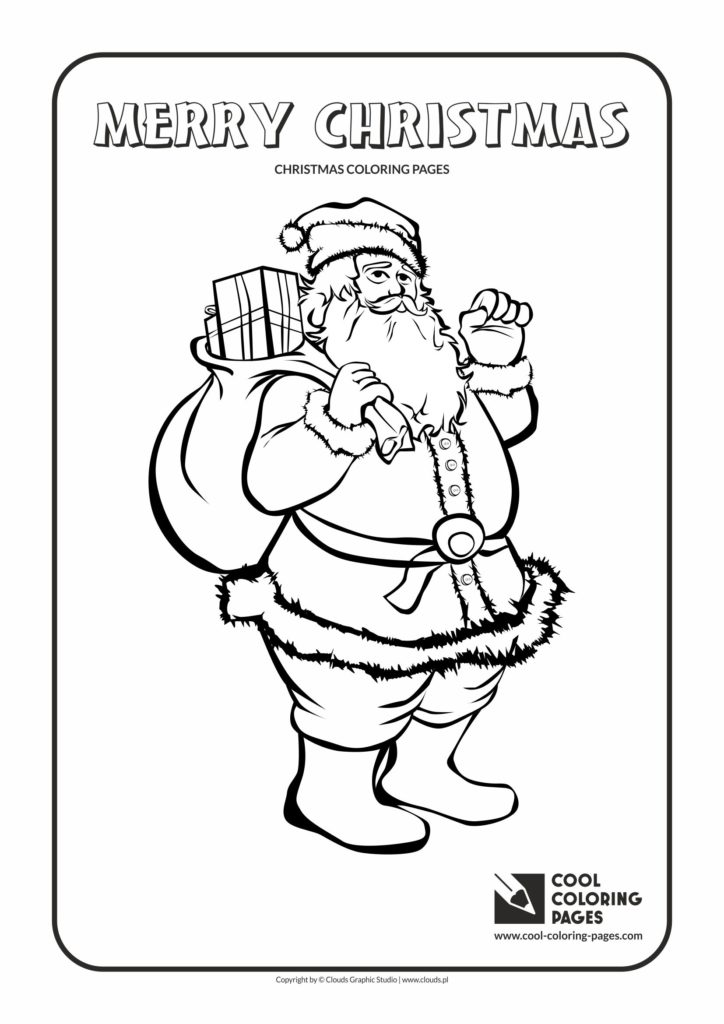 Cool Coloring Pages Santa Claus No 2 Coloring Page Cool
