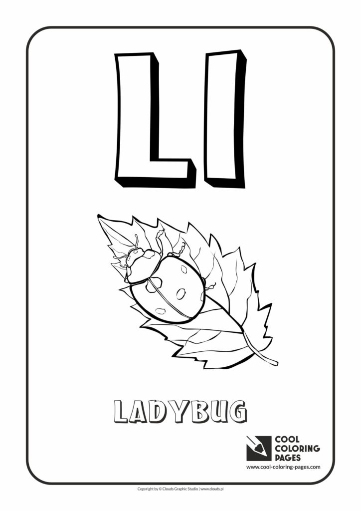 Cool Coloring Pages Letter L