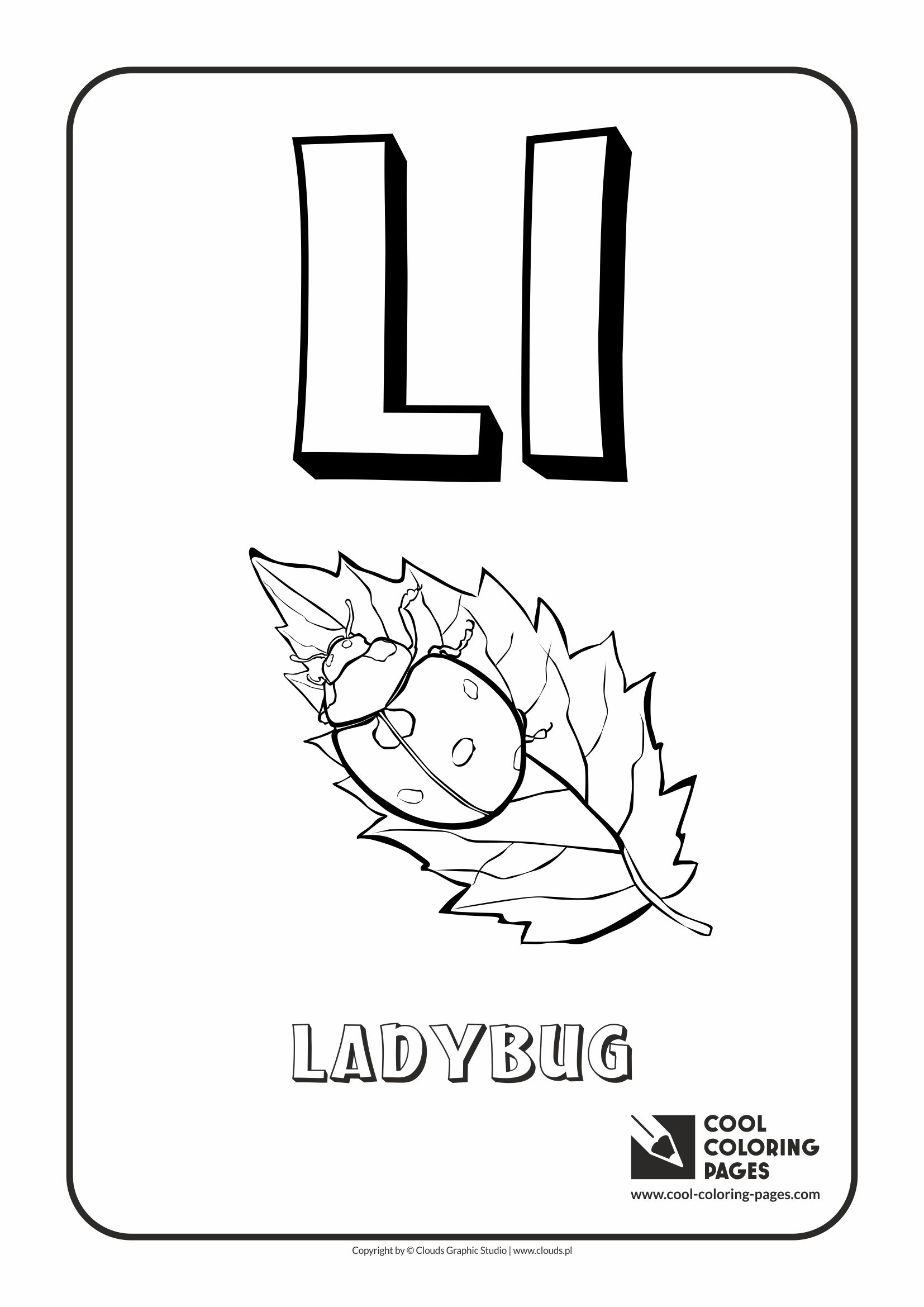 cool coloring pages alphabet letter l coloring page with letter l