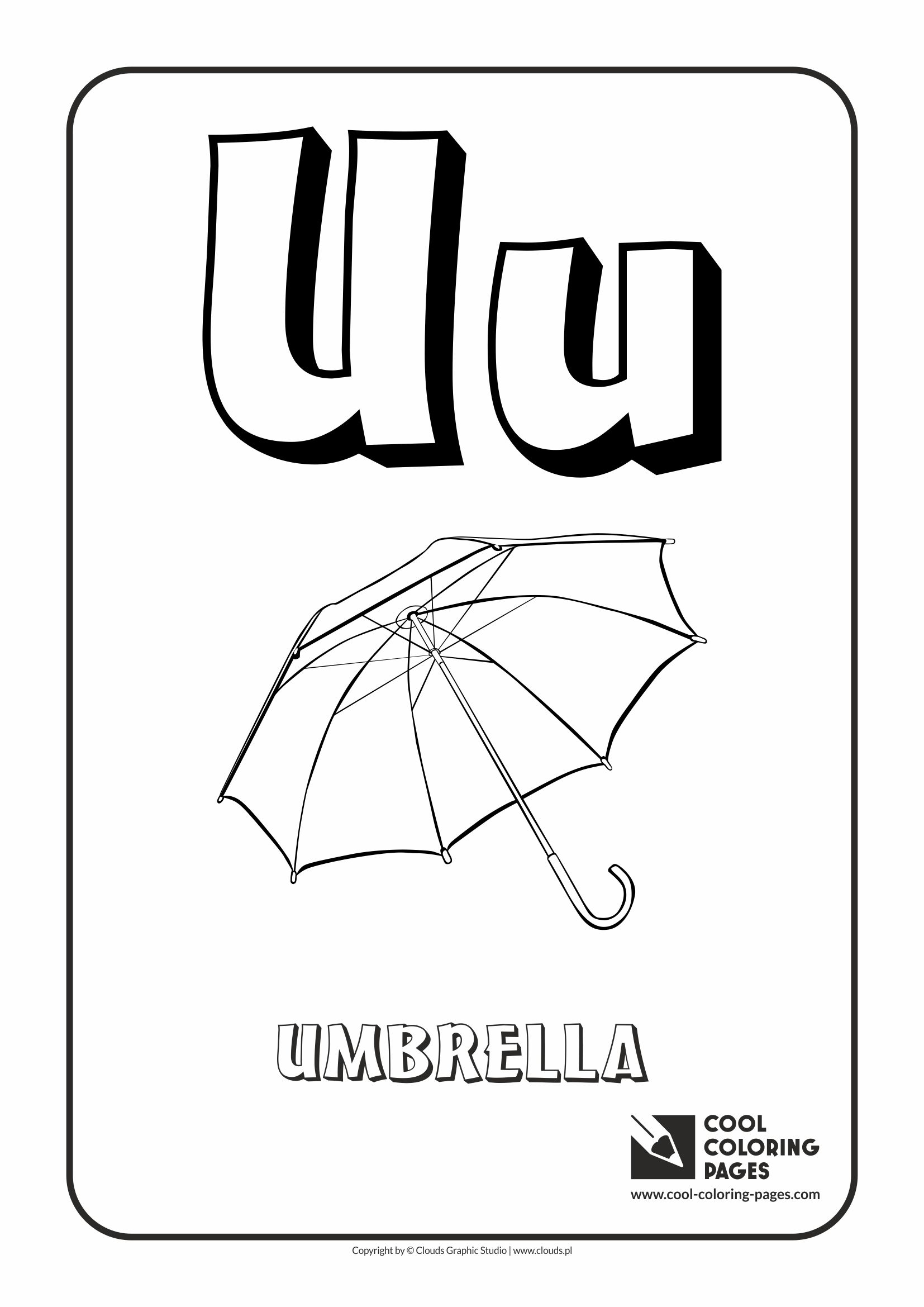 letter u u2013 coloring alphabet cool coloring pages