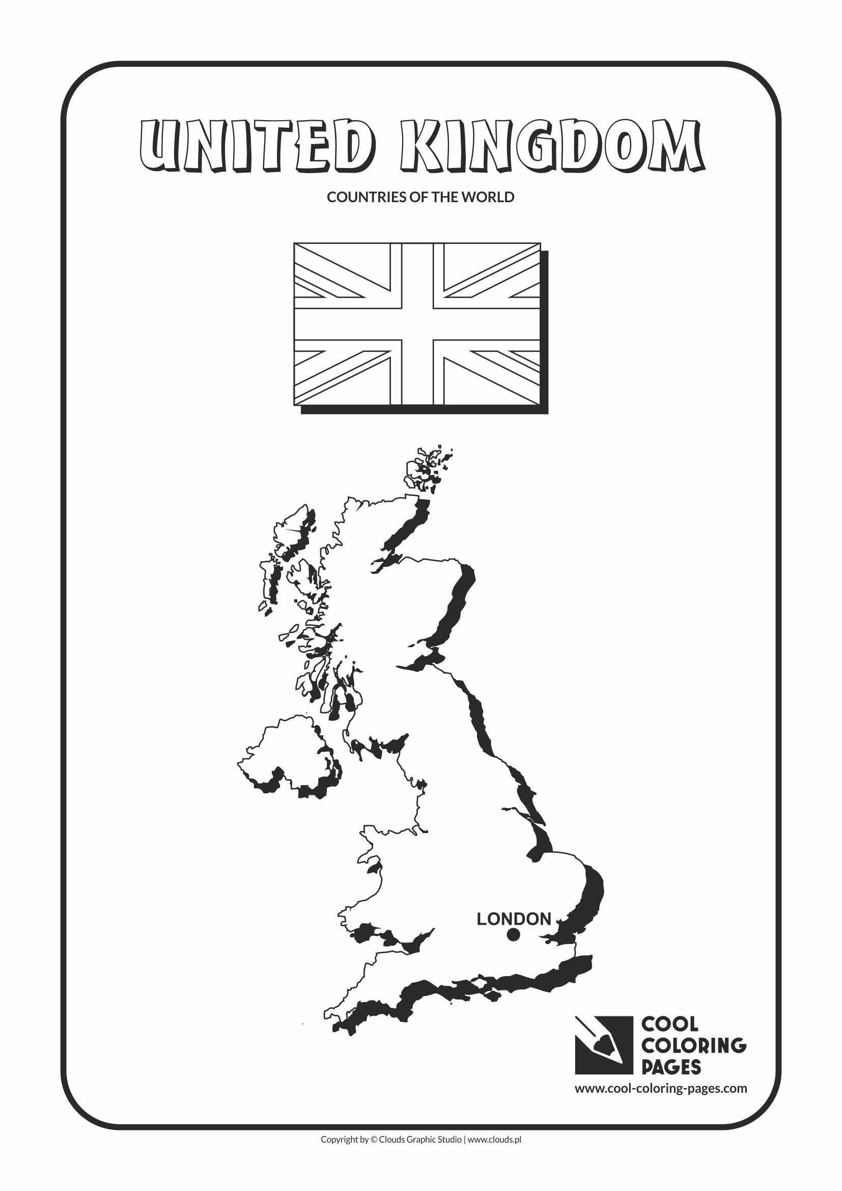 Cool Coloring Pages - Countries of the world / United Kingdom