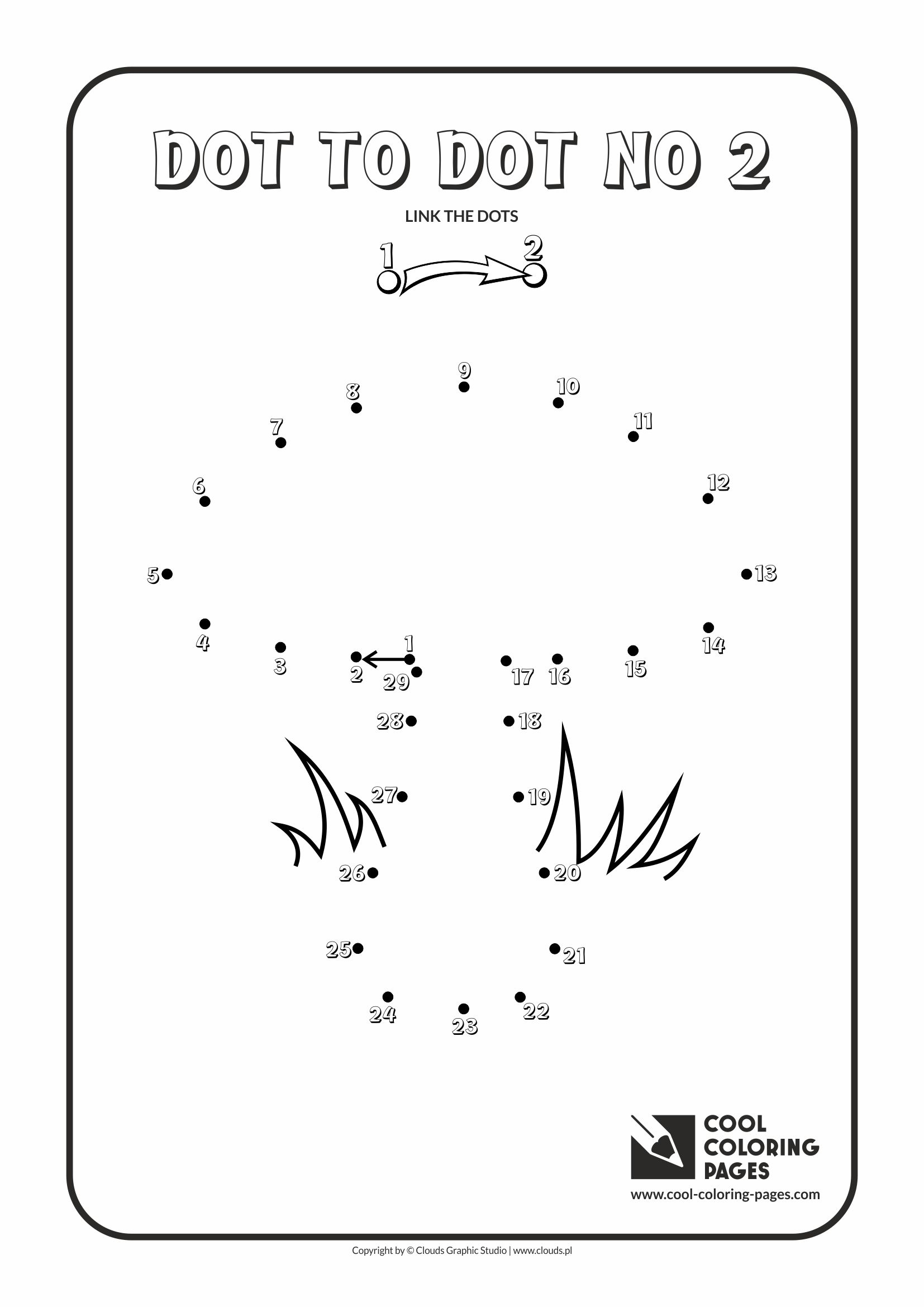 Cool Coloring Pages - Dot to dot / Dot to dot no 2