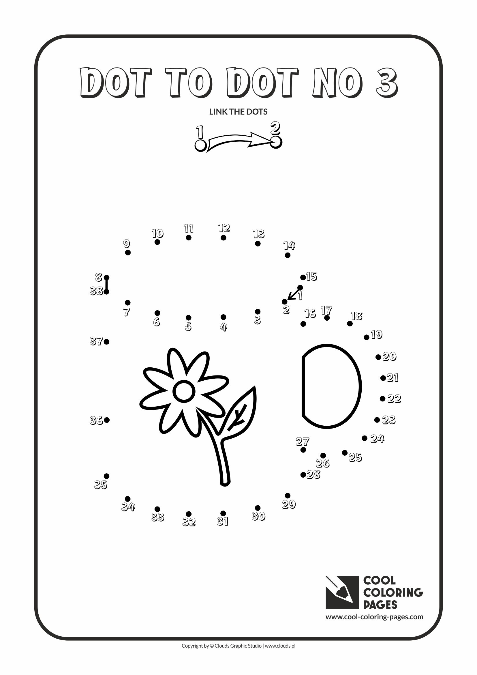 Cool Coloring Pages - Dot to dot / Dot to dot no 3