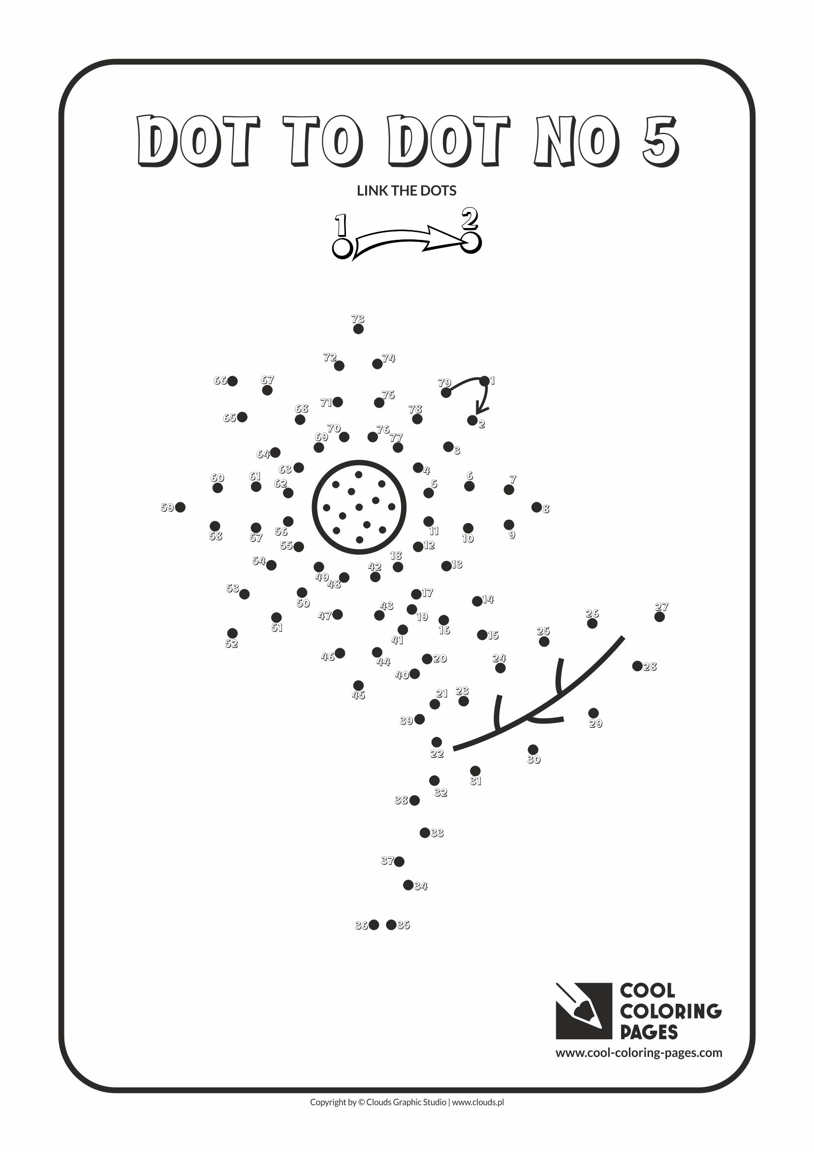 Cool Coloring Pages - Dot to dot / Dot to dot no 5