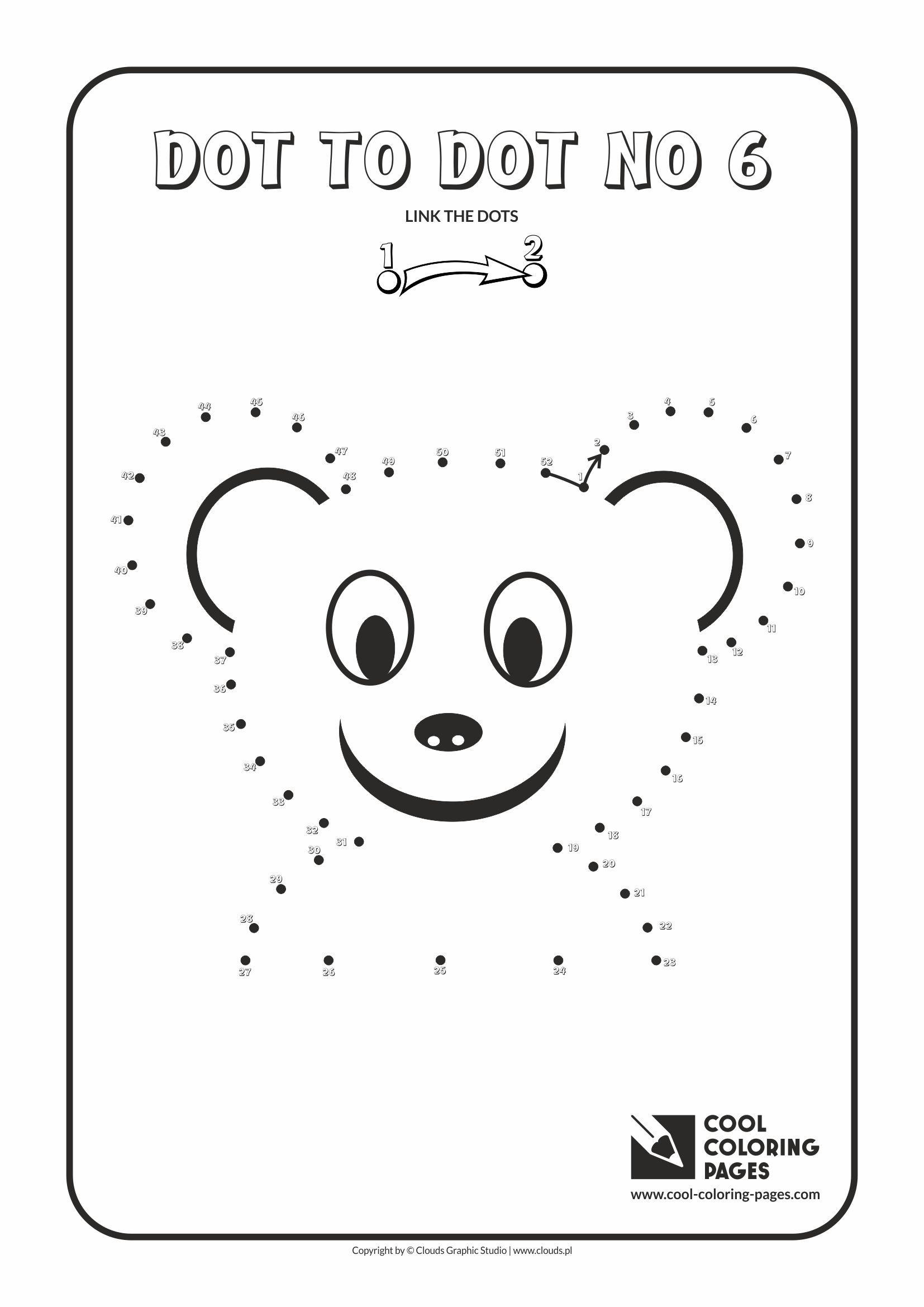 Cool Coloring Pages - Dot to dot / Dot to dot no 6