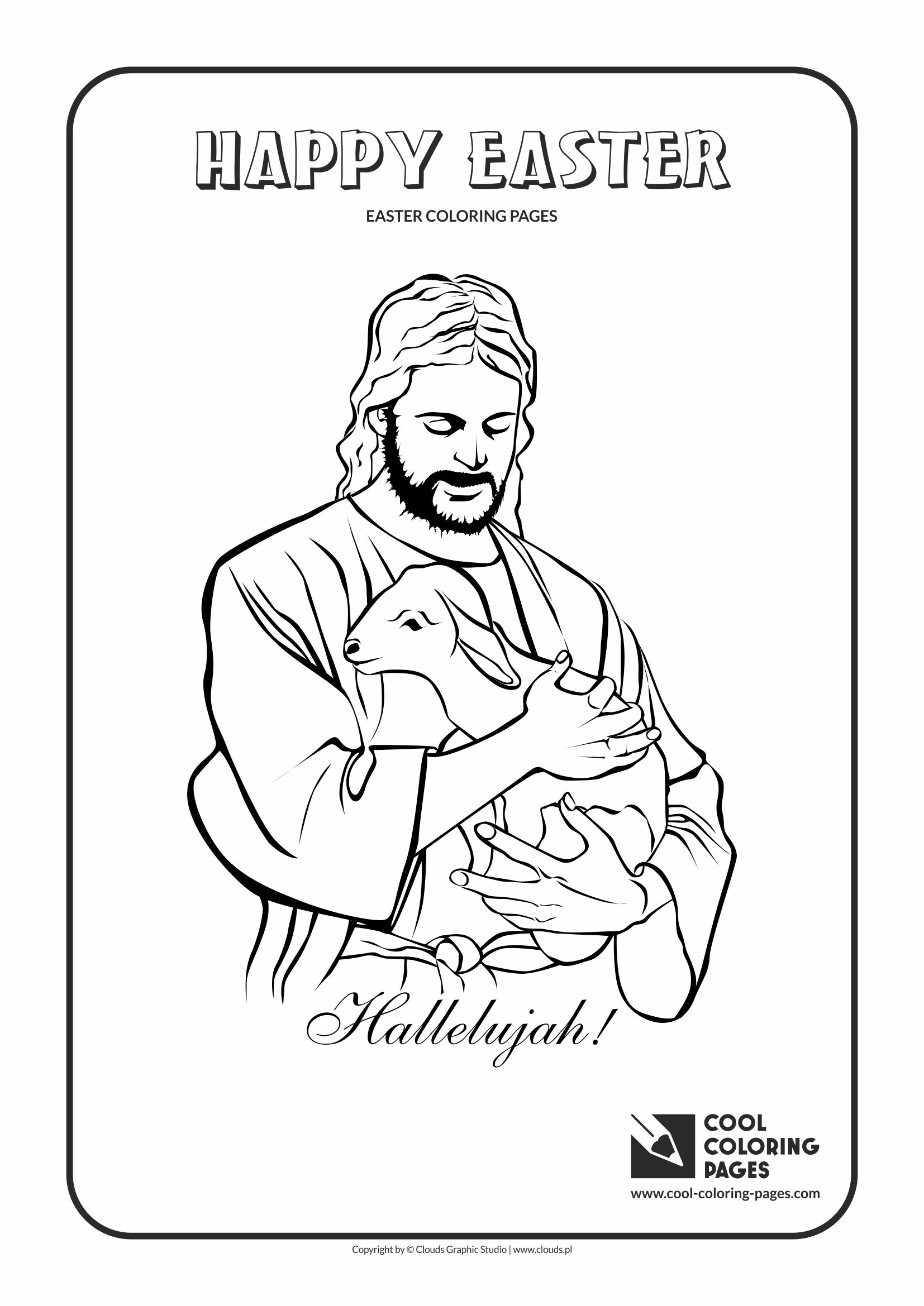 Cool Coloring Pages Easter