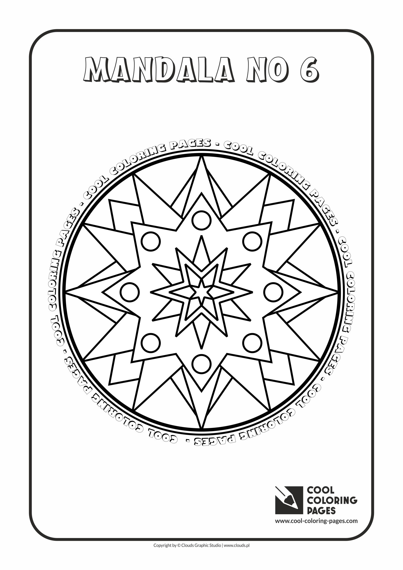 Cool Coloring Pages Mandalas - Cool Coloring Pages | Free ...