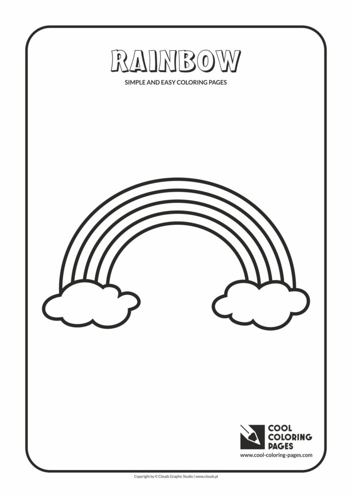 Cool Coloring Pages Simple And Easy Coloring Pages