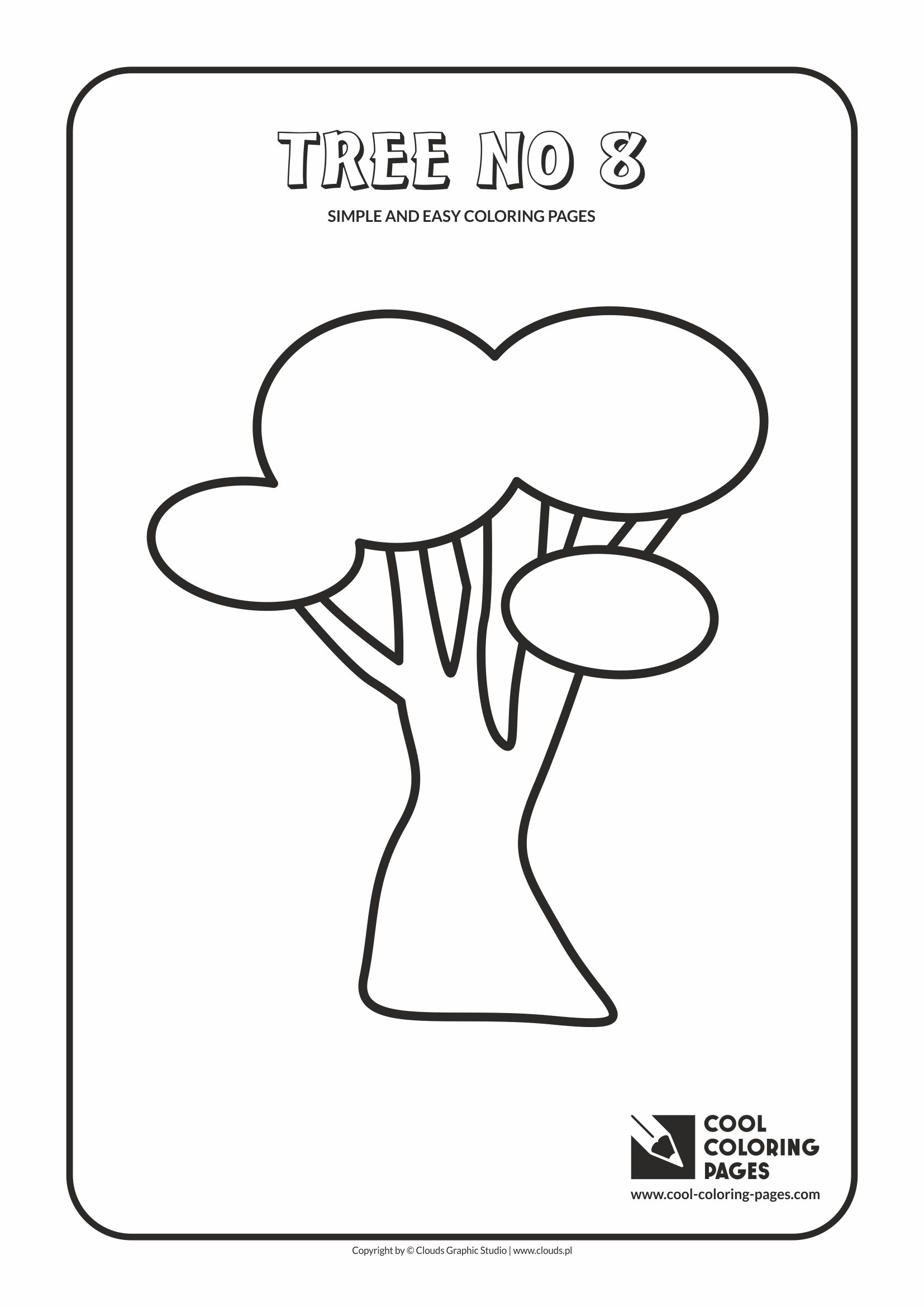 cool coloring pages easy - photo#21