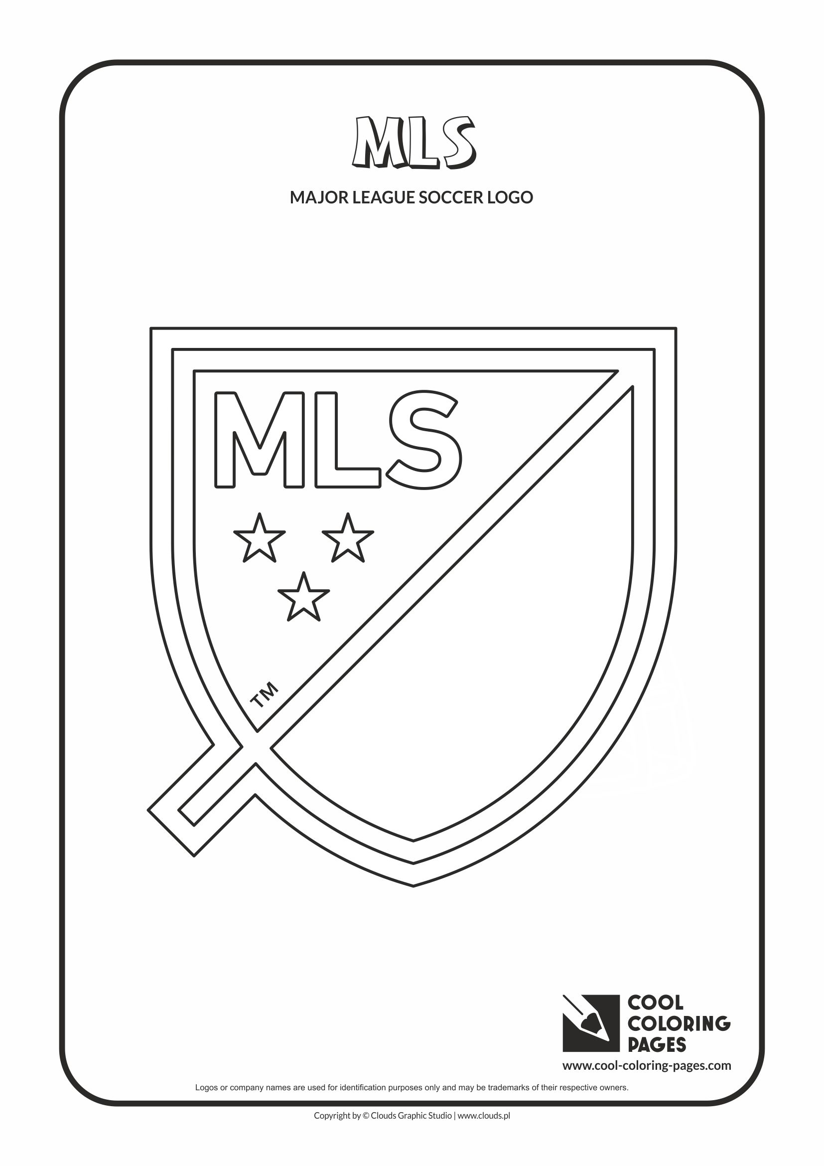 MLS logo coloring pages - Cool Coloring Pages