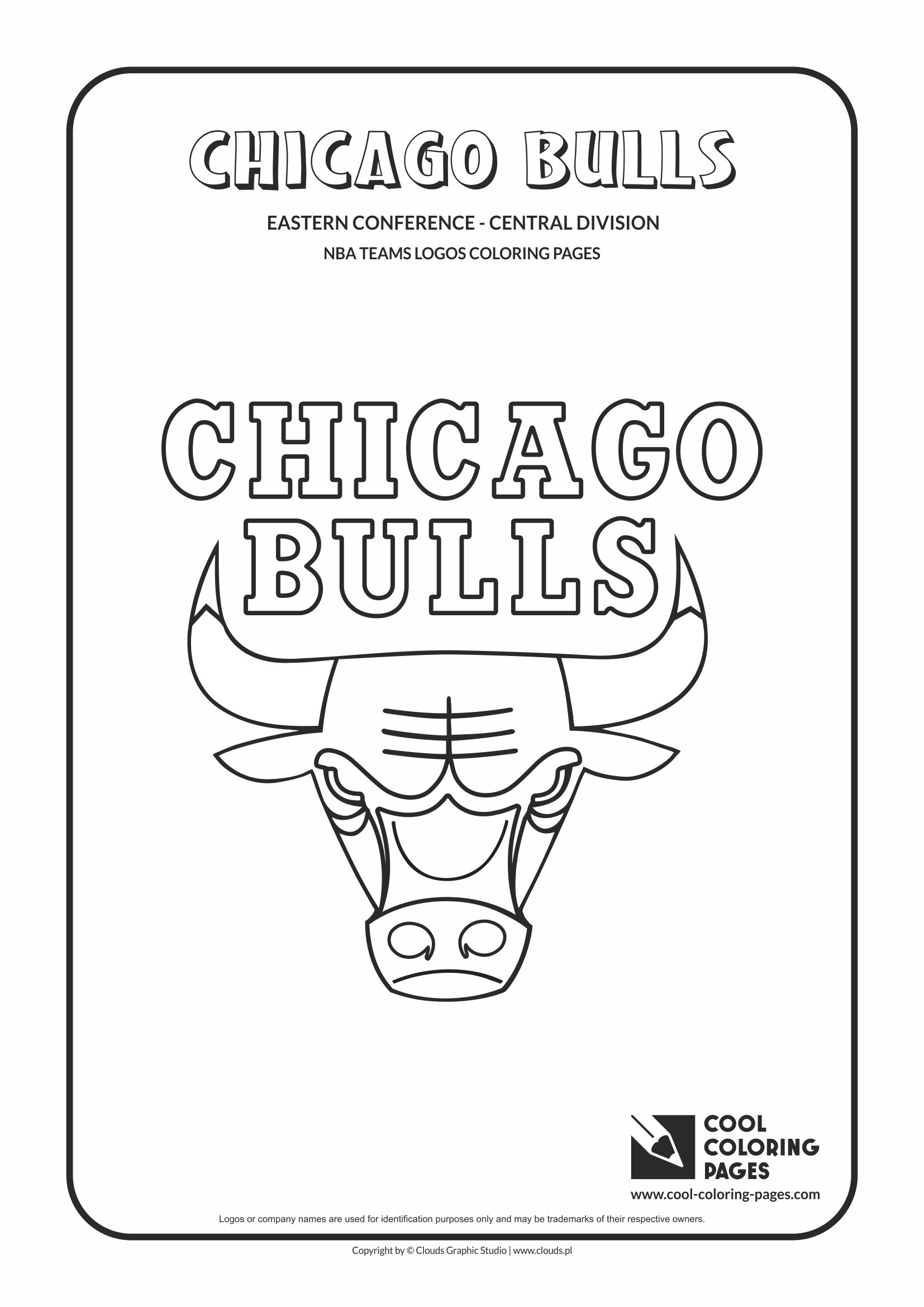 Cool Coloring Pages Chicago Bulls - NBA basketball teams logos ...