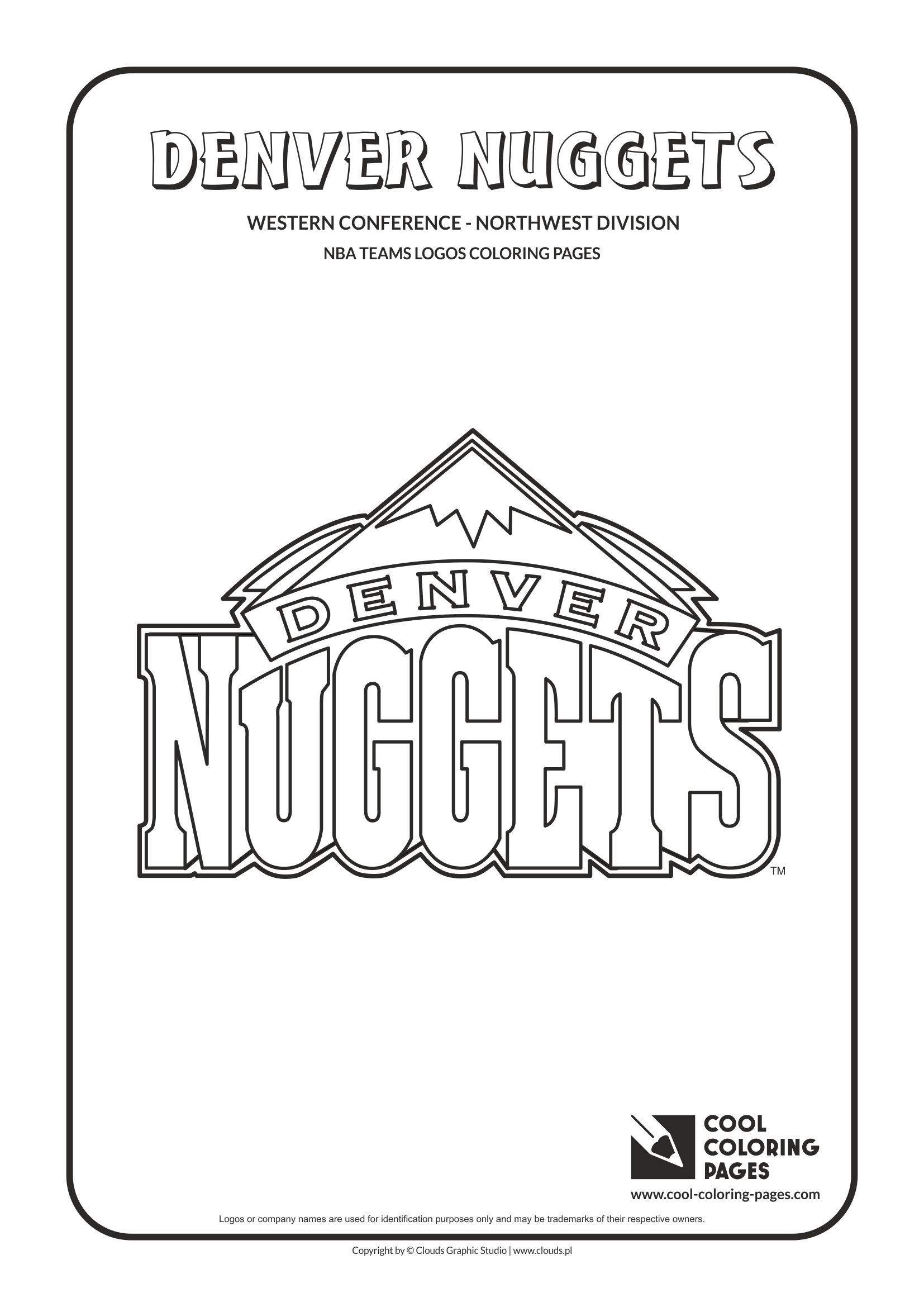 Cool Coloring Pages NBA teams logos coloring pages - Cool Coloring ...