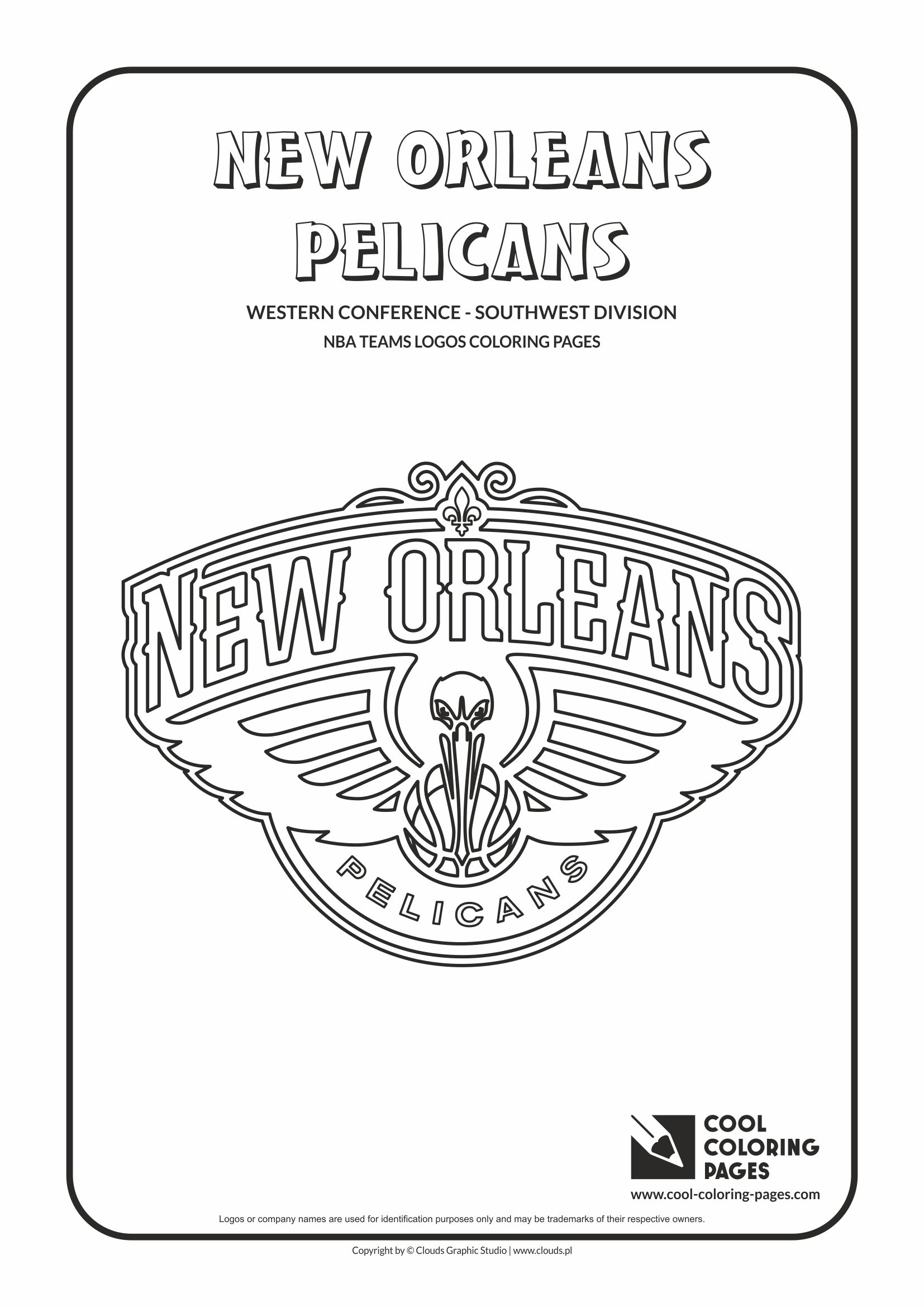 - Cool Coloring Pages NBA Teams Logos Coloring Pages - Cool Coloring