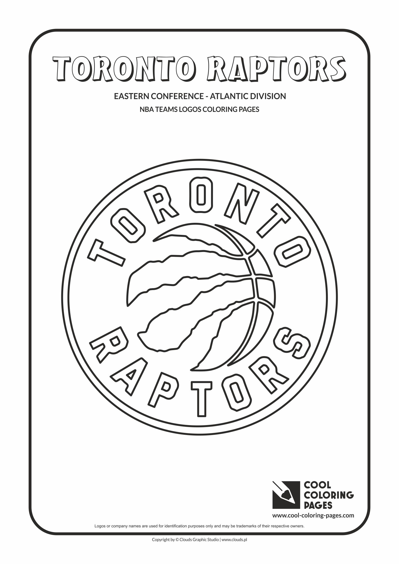 toronto raptors coloring pages - cool coloring pages nba teams logos coloring pages cool