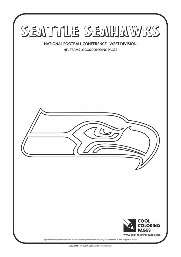 Cool Coloring Pages Seattle Seahawks Nfl American