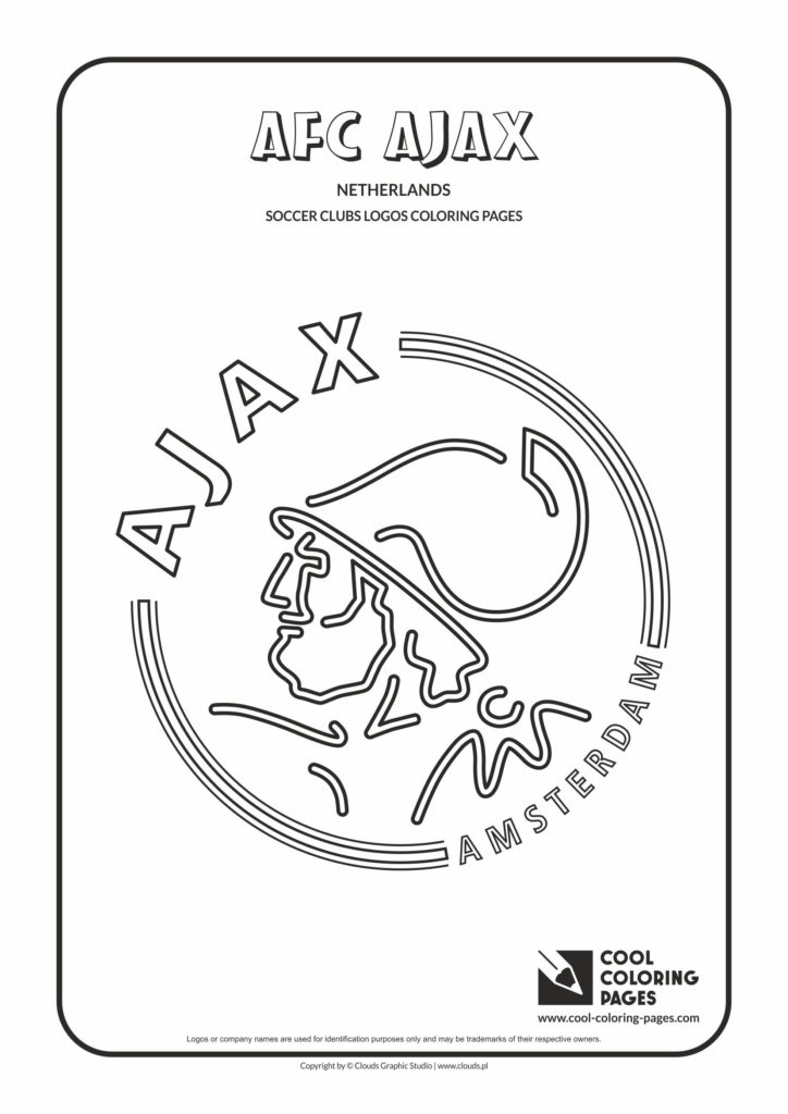 Cool Coloring Pages AFC Ajax Amsterdam