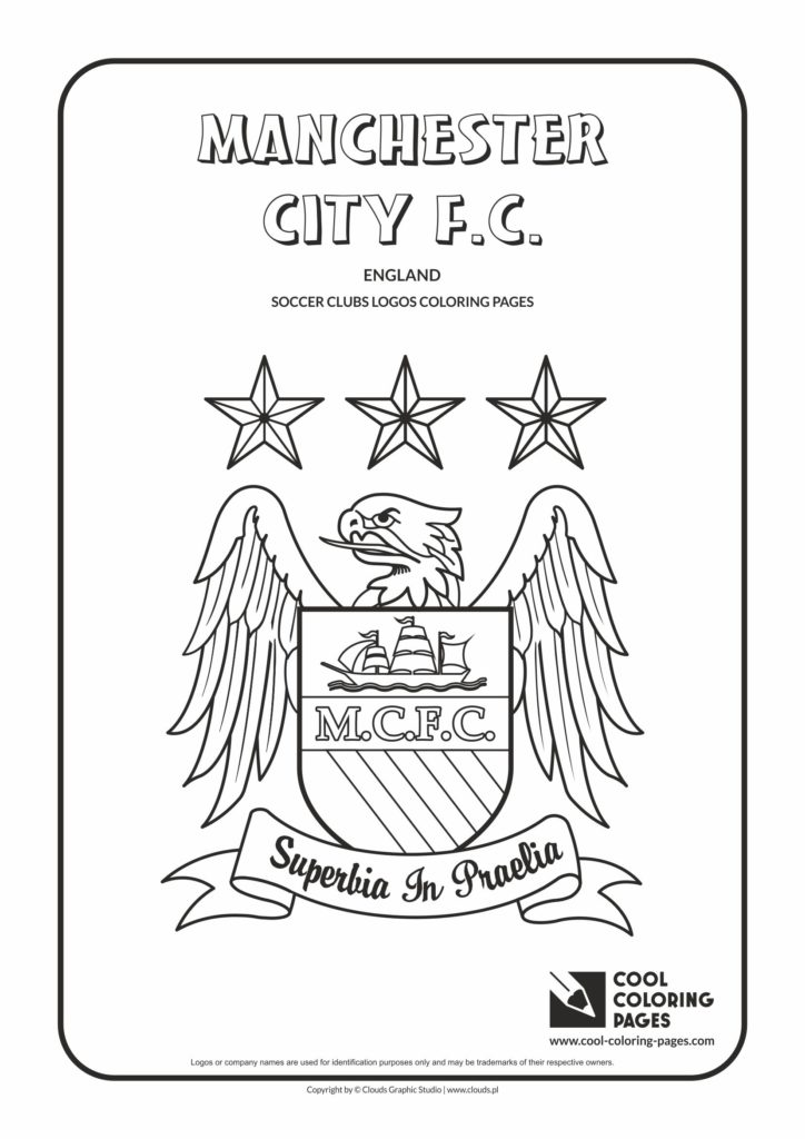 Cool Coloring Pages Manchester City F C Logo Coloring