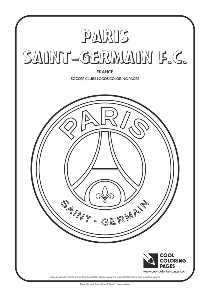 cool coloring pages paris saint