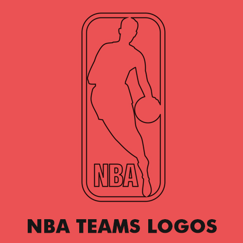 NBA - Basketball teams logos coloring pages for kids