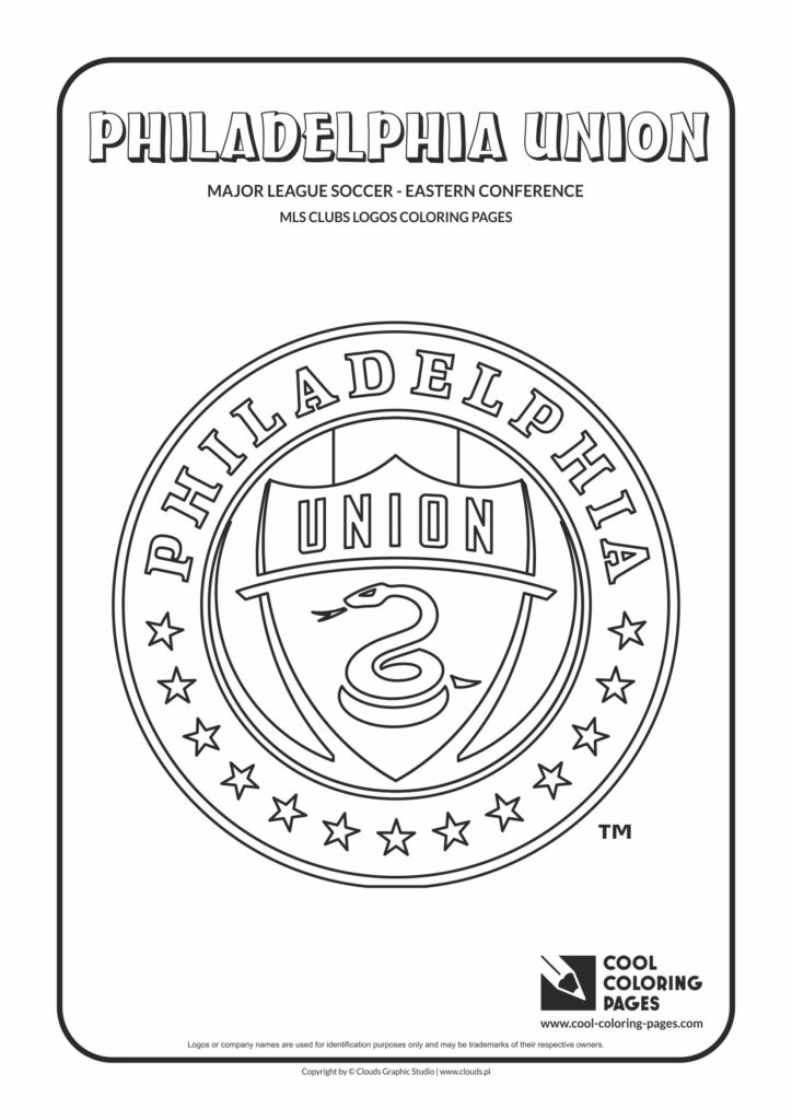 Cool Coloring Pages Philadelphia Union Logo Coloring Pages - Cool