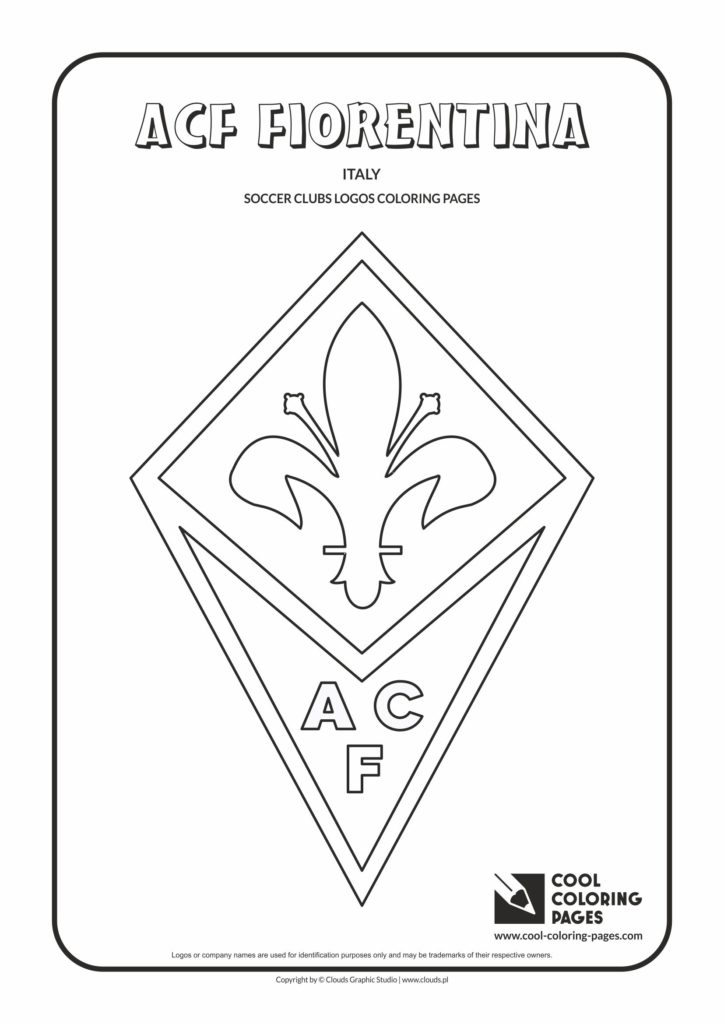 Cool Coloring Pages Acf Fiorentina Logo Coloring Page