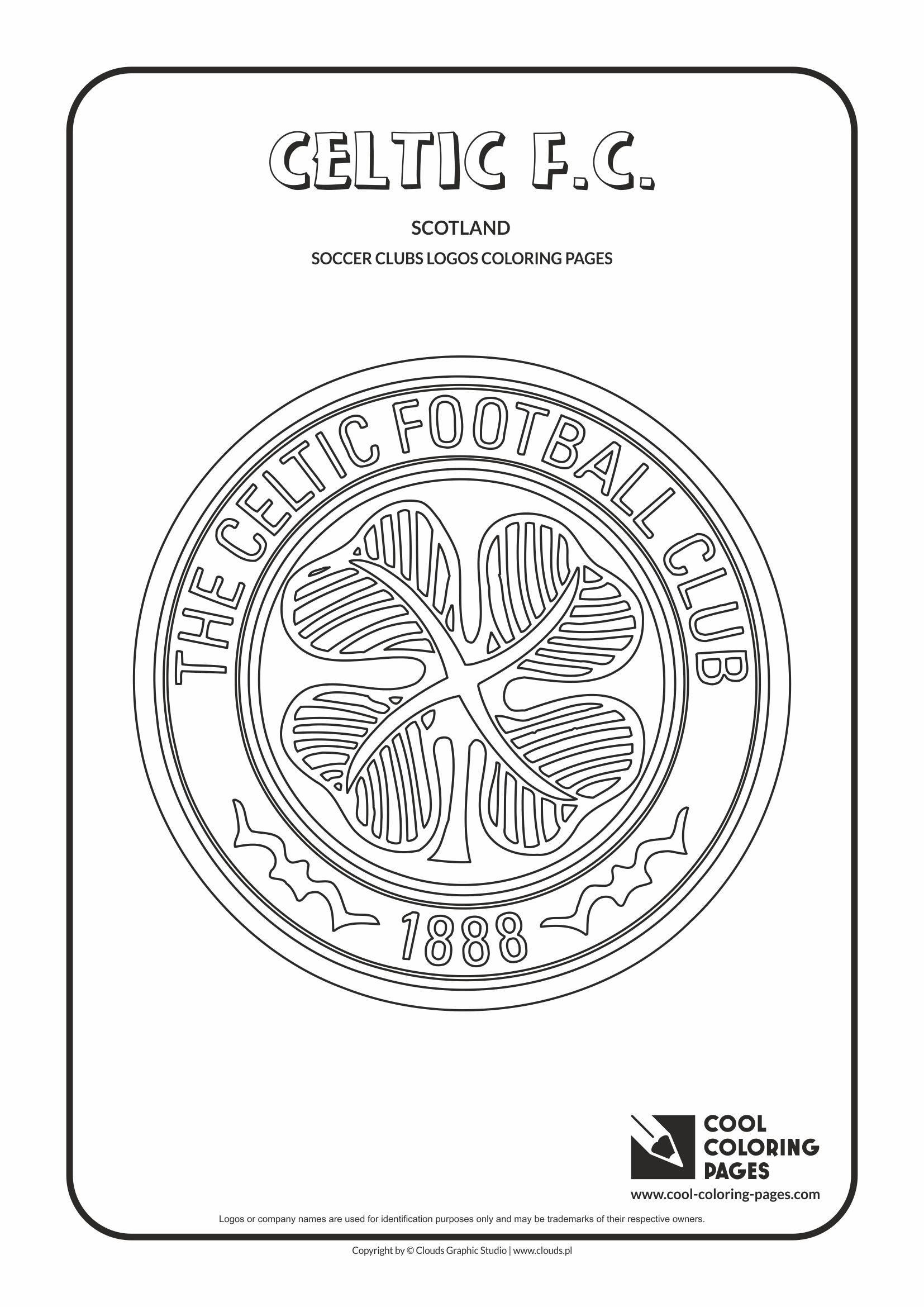 Cool Coloring Pages Celtic F.C. logo coloring page - Cool Coloring ...