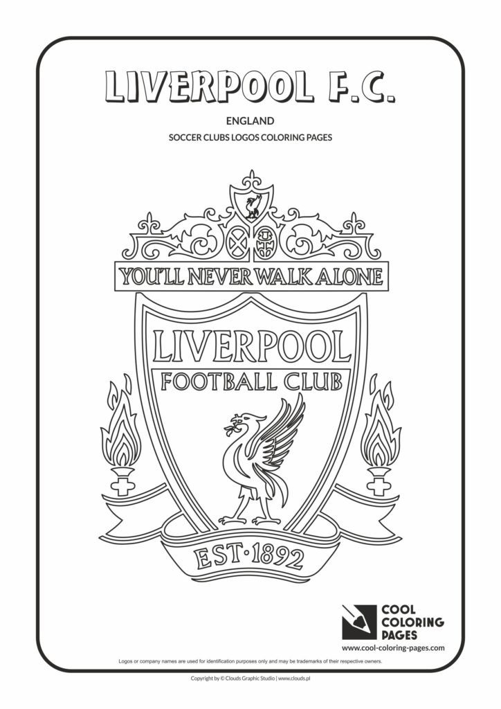 Cool Coloring Pages Liverpool FC