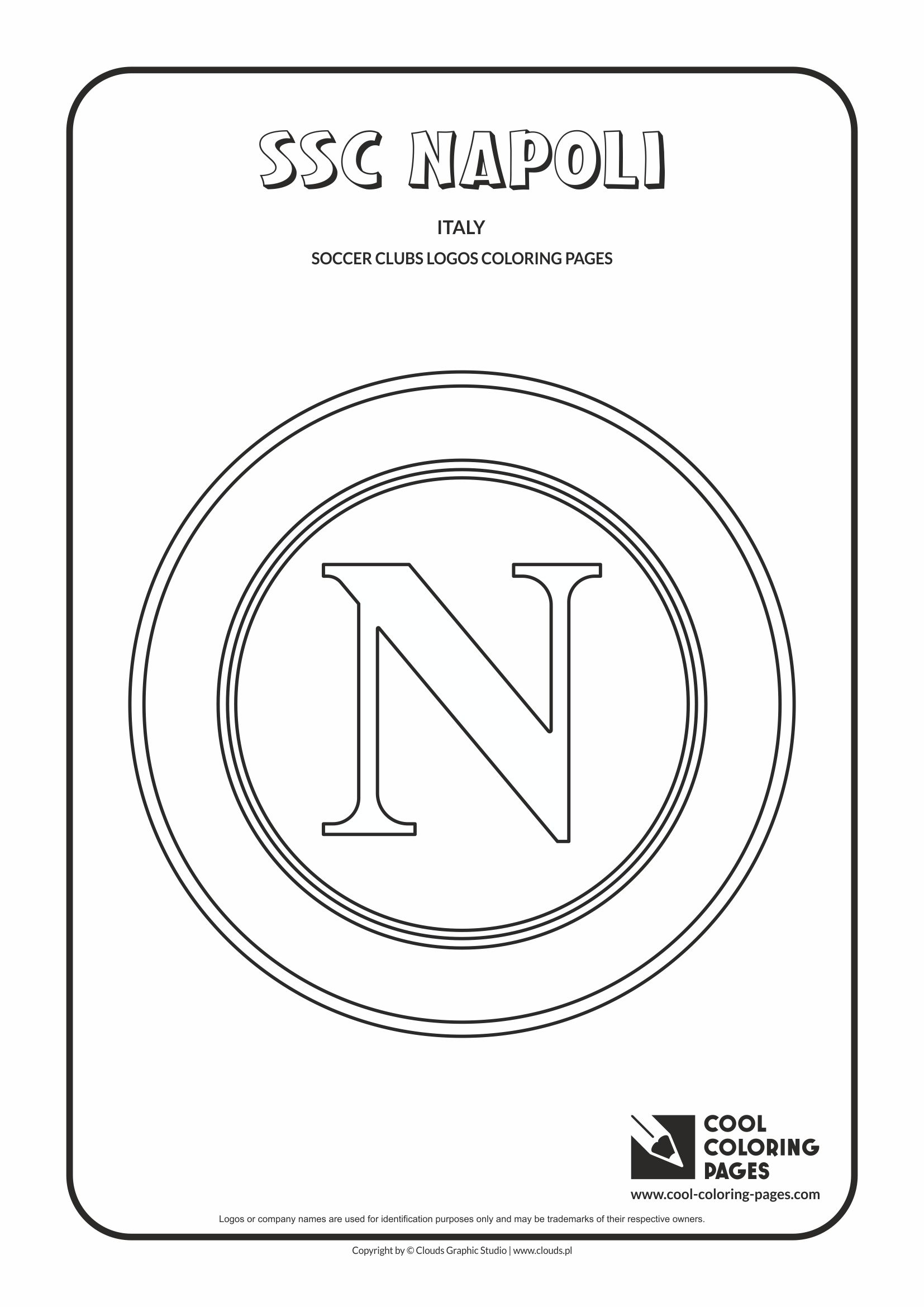 Cool Coloring Pages SSC Napoli