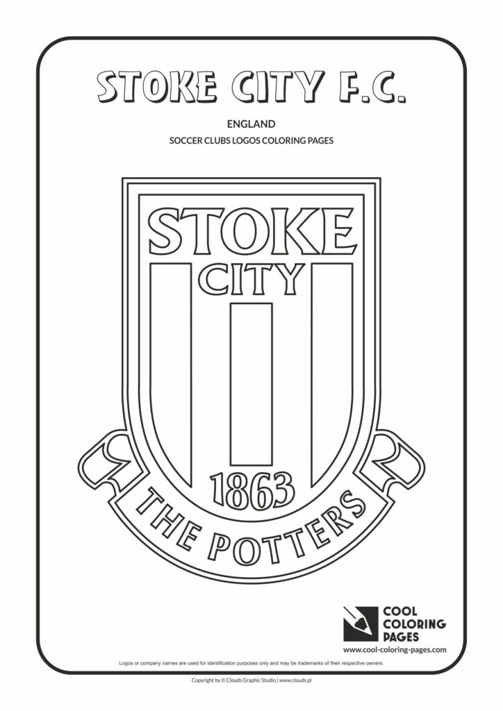 Cool Coloring Pages Stoke City F C Logo Coloring Page