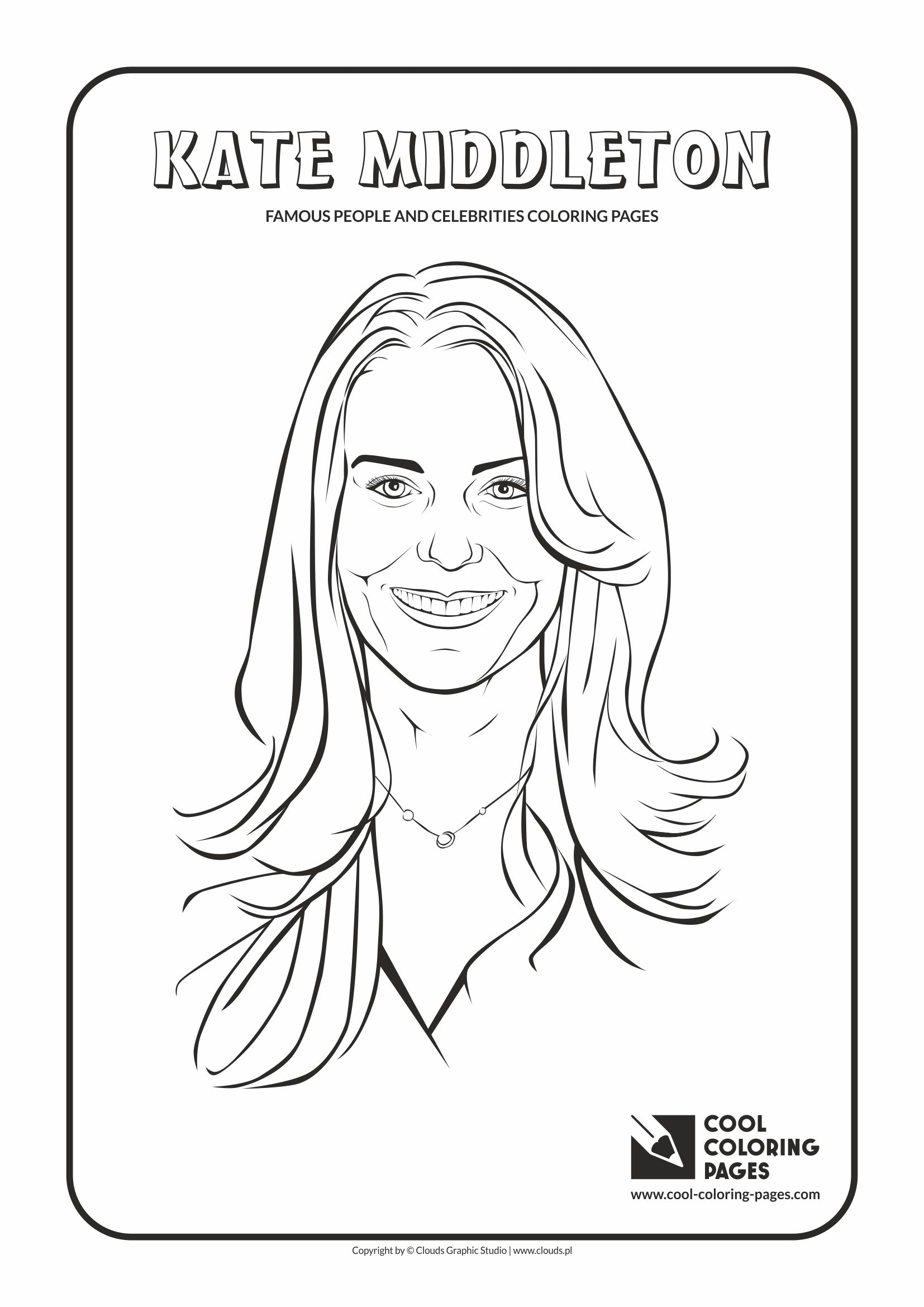 Cool Coloring Pages Famous People And Celebrities Cool