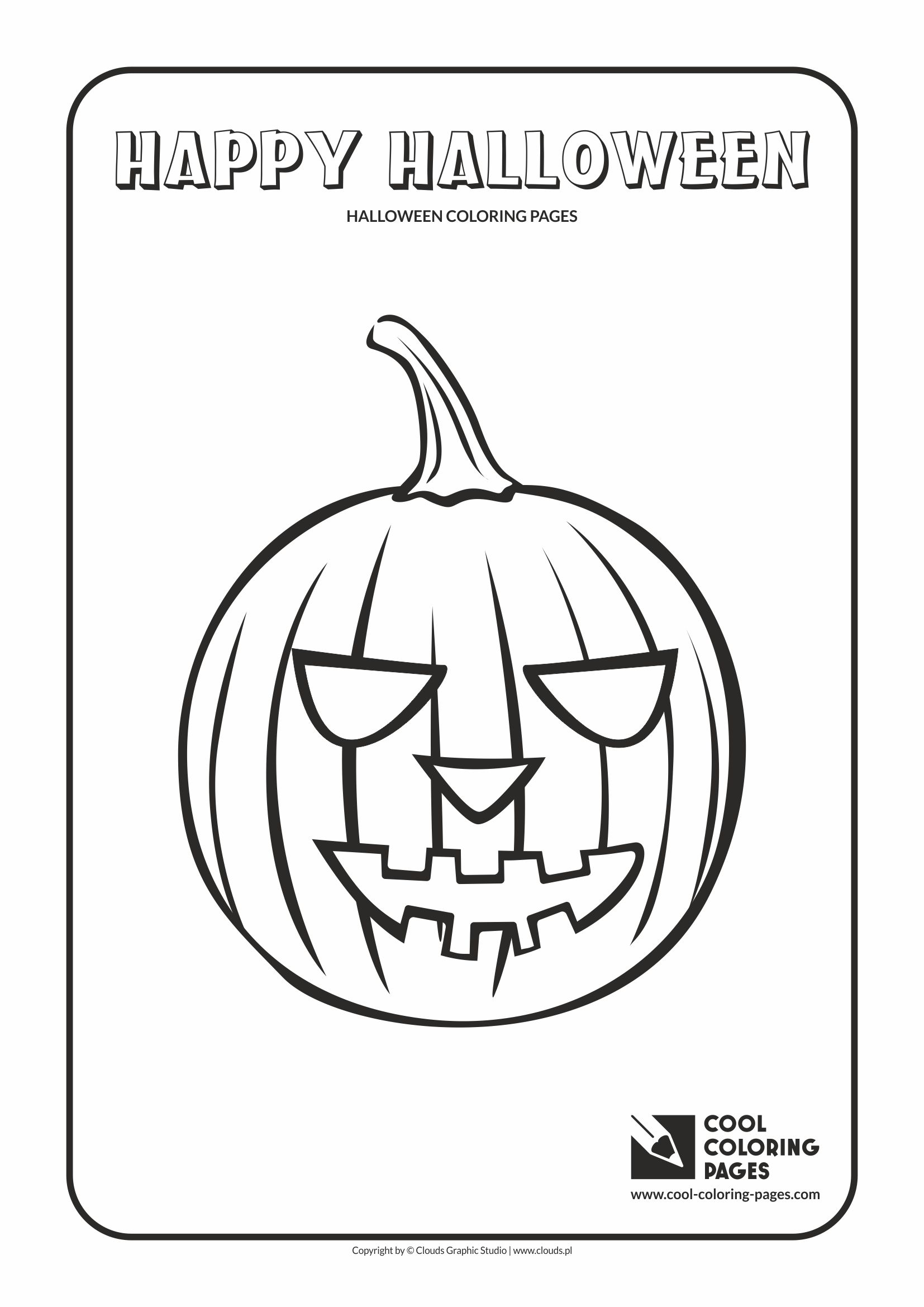 Cool Coloring Pages Halloween coloring