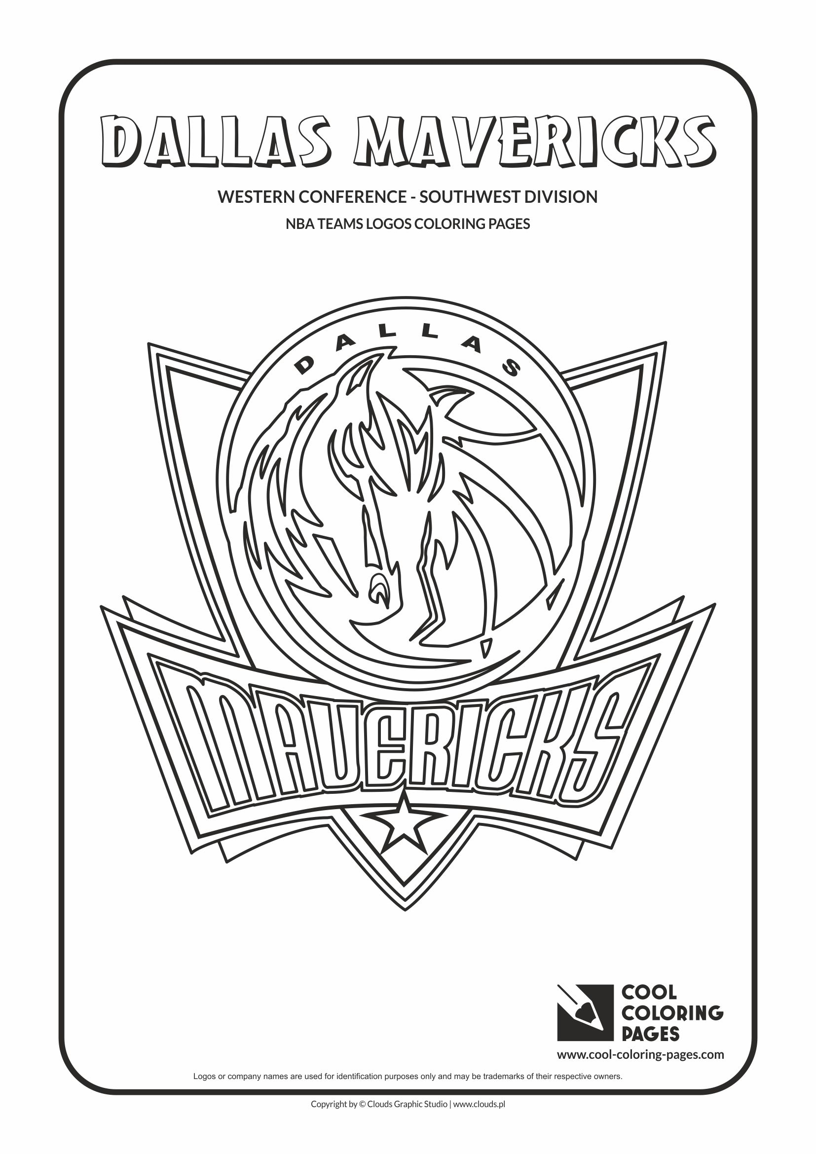 Cool Coloring Pages NBA teams logos coloring pages - Cool ...