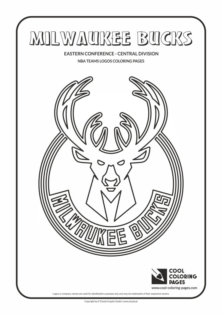 Cool Coloring Pages Milwaukee Bucks - NBA basketball teams ...