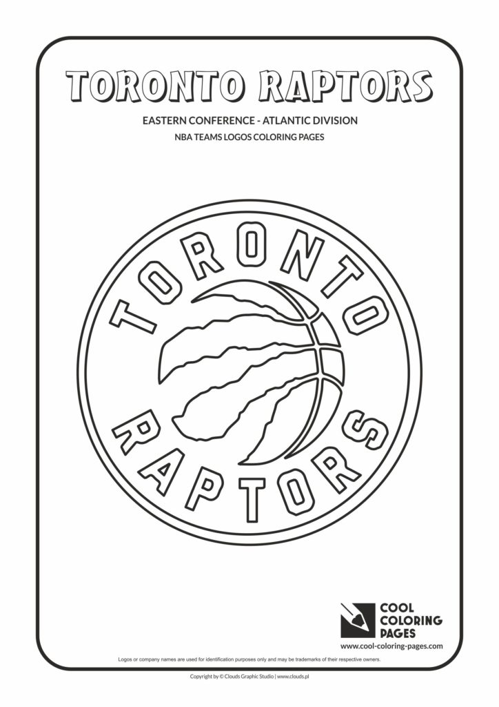 Cool Coloring Pages Toronto Raptors