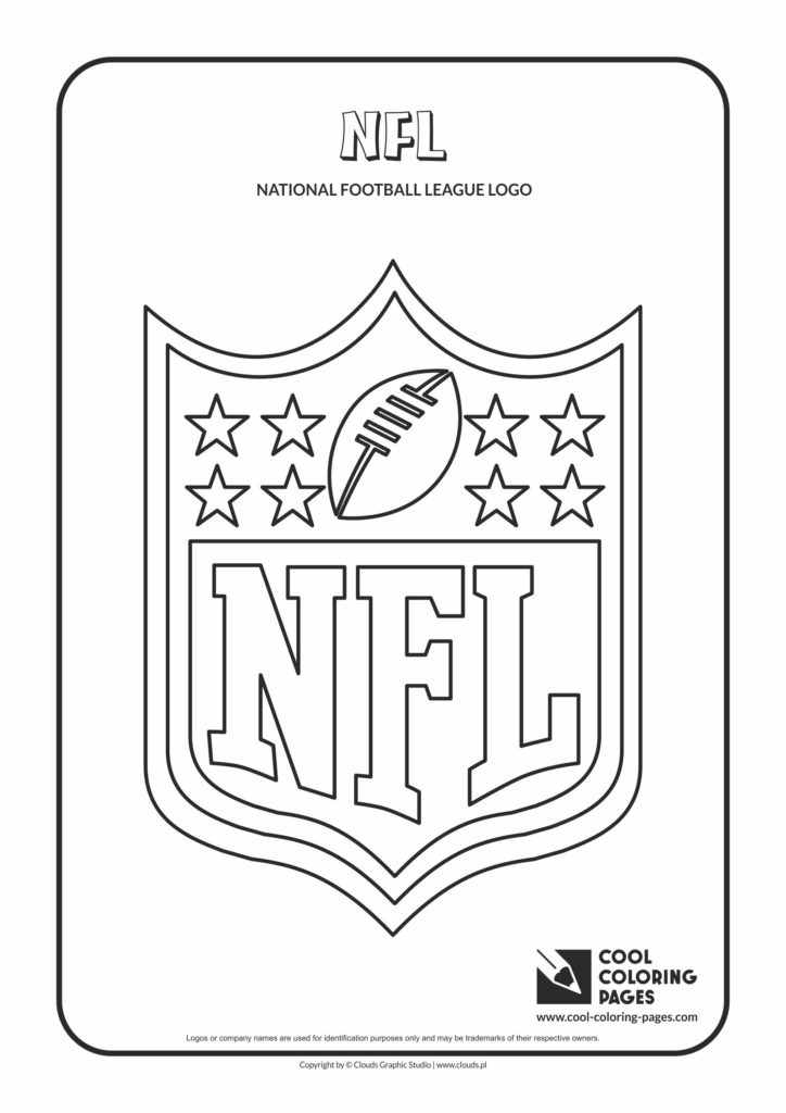 Cool Coloring Pages Nfl Logo Coloring Pages Cool
