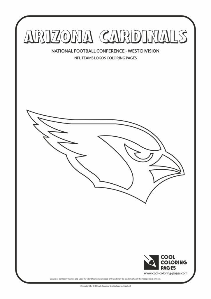 Cool Coloring Pages Arizona Cardinals Nfl American