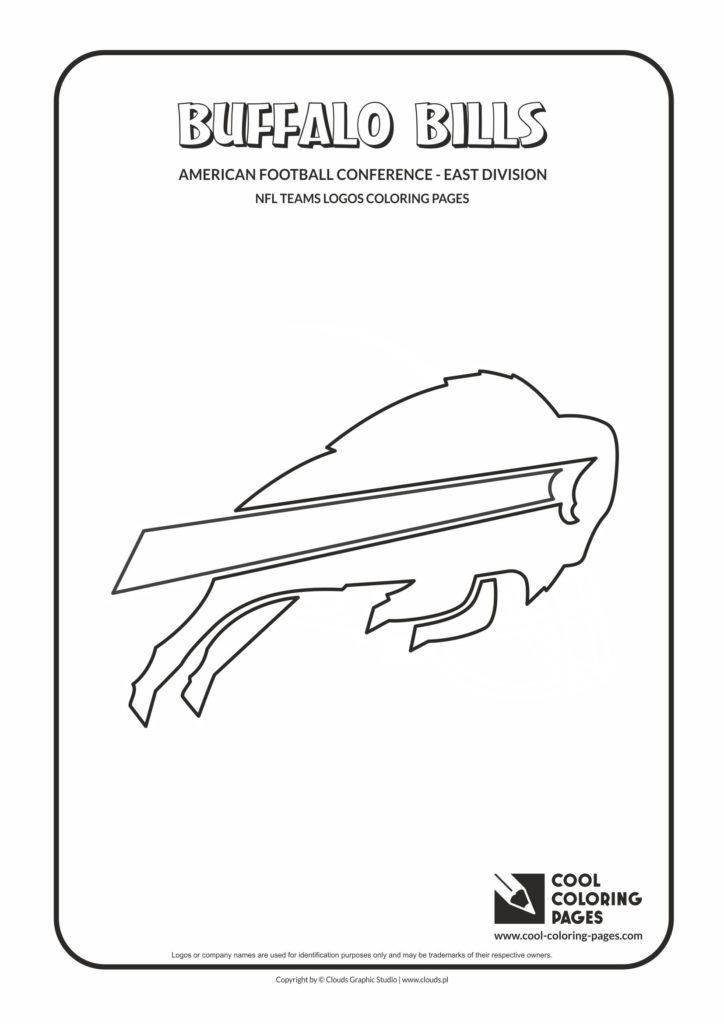 Cool Coloring Pages Buffalo Bills Nfl American Football